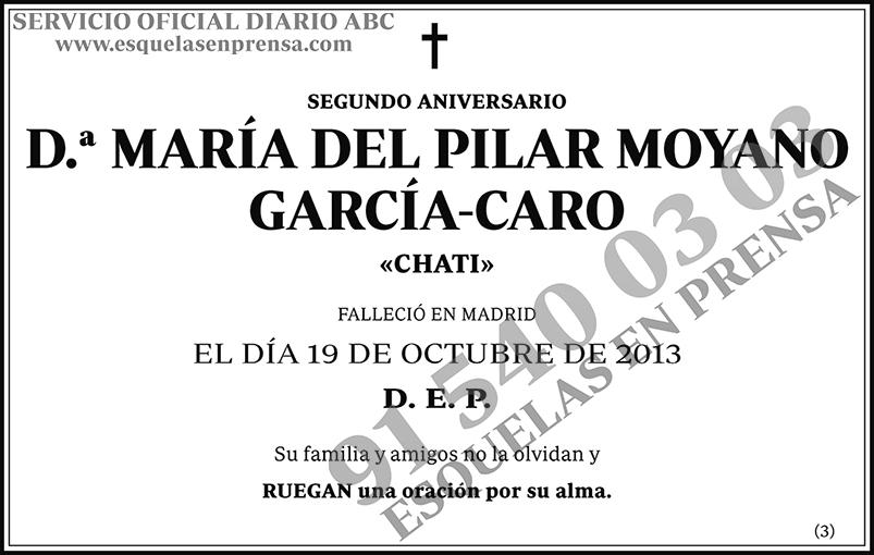 María del Pilar Moyano García-Caro